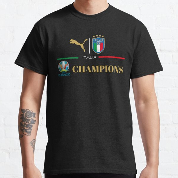 Italy Soccer Champions 2020 Forza Azzurri Italia Football Classic T-Shirt