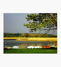 Topsham Dinghies Photographic Print