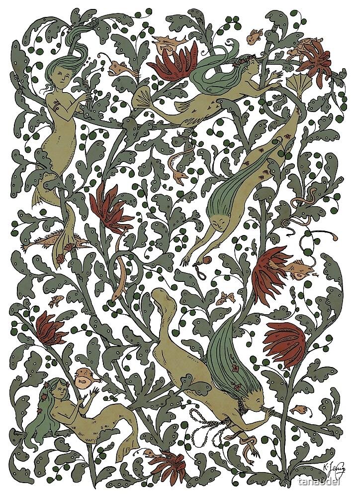 Mermaid tangle by tanaudel