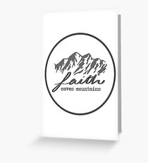 Faith Quote Greeting Card