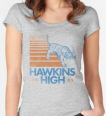 Hawkins High (Stranger Things) Women's Fitted Scoop T-Shirt