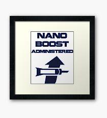 Nano Boost Administered Framed Print