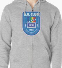 Hawkins AV Club (Stranger Things) Zipped Hoodie