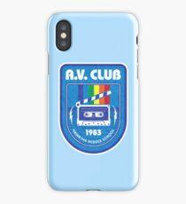 Hawkins AV Club (Stranger Things) iPhone Case/Skin
