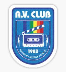 Hawkins AV Club (Stranger Things) Sticker