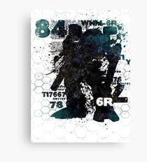 84 Revisited V5 Canvas Print