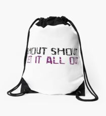 Tears For Fears Drawstring Bag