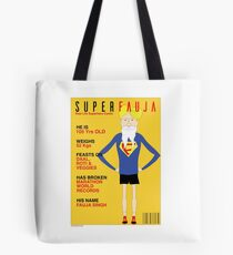 Real Life Superhero Tote Bag