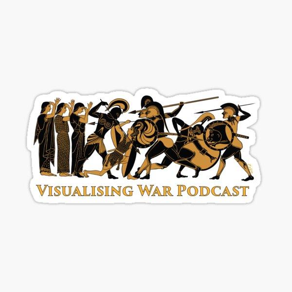 Visualising War podcast v.3  Sticker