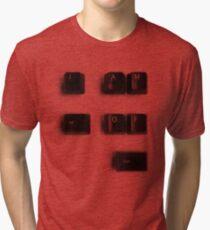 Alt of Ctrl Tri-blend T-Shirt