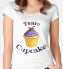 Team Cupcake Women's Fitted Scoop T-Shirt