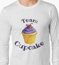 Camiseta de manga larga Cupcake del equipo