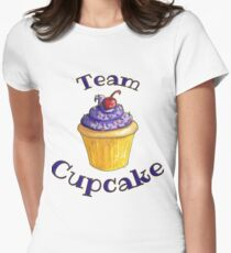 Team Cupcake Womens Fitted T-Shirt
