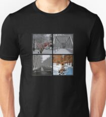 Saucon Valley Winter Unisex T-Shirt