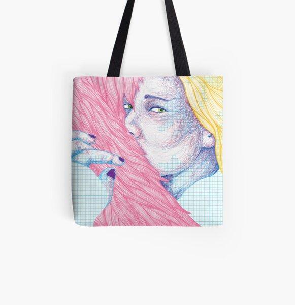 Hanna All Over Print Tote Bag