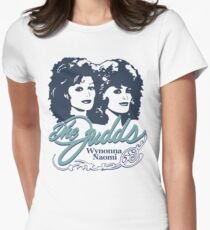 The Judds Step Brothers Wynonna Naomi Womens Fitted T-Shirt