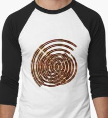 Circular madness Men's Baseball ¾ T-Shirt