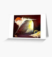 Heavens Door by Arron. Greeting Card