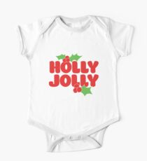Holly Jolly One Piece - Short Sleeve