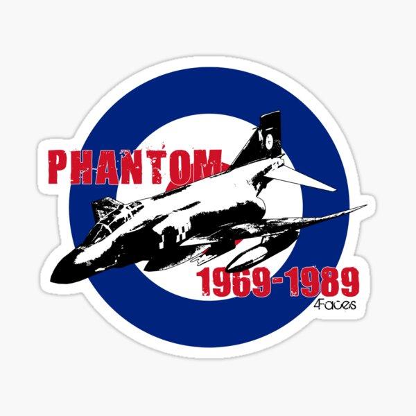 RAF Phantom 1969-1989 Sticker