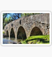 Historic Meadows Road Bridge Sticker