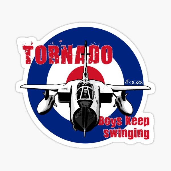 RAF Tornado - Boys Keep Swinging Sticker
