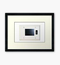 Wall Screen Framed Print