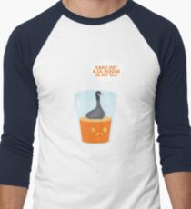 CAN I GET A LIL GOOSE IN MY OJ? Men's Baseball ¾ T-Shirt