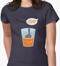 CAN I GET A LIL GOOSE IN MY OJ? Women's Fitted T-Shirt