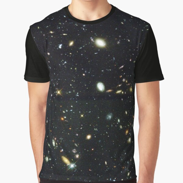 The Hubble Deep Field Graphic T-Shirt