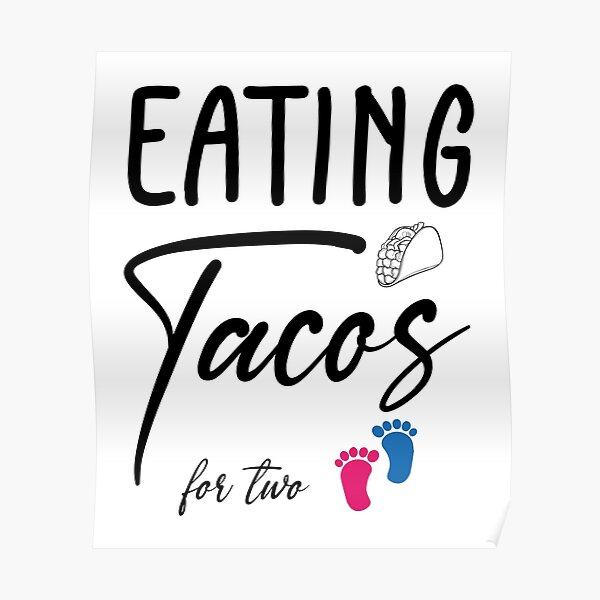 EATING TACOS FOR TWO Poster