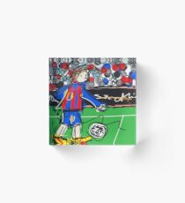 Messi Acrylic Block