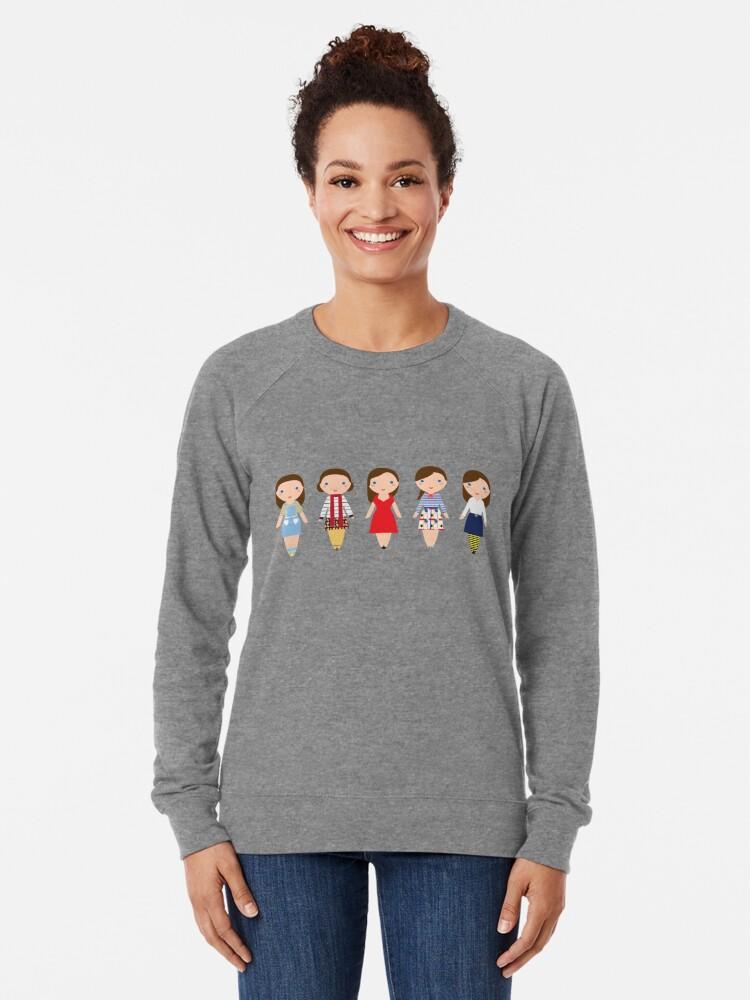 Alternate view of Louisa Clark Lightweight Sweatshirt