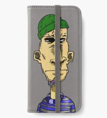 Seemann Farbe iPhone Wallet/Case/Skin