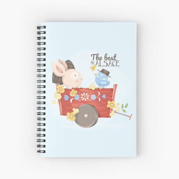 The best in Alsace Spiral Notebook