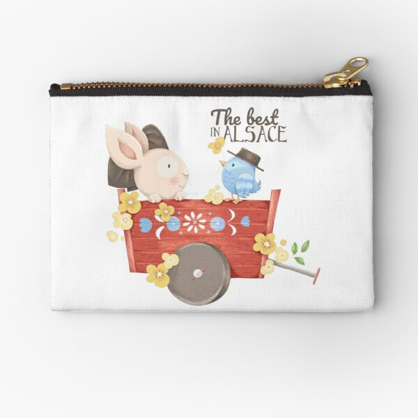 The best in Alsace Zipper Pouch