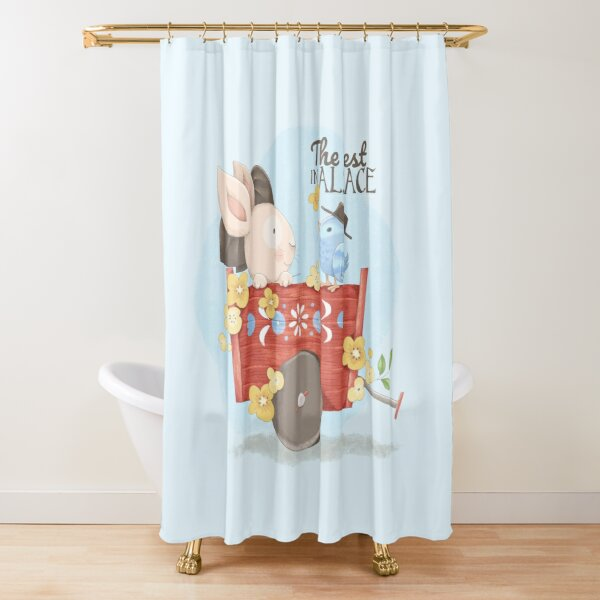 The best in Alsace Shower Curtain