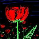 Red flower by rimadi