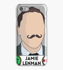 Jamie Lenman (Reuben) panini sticker iPhone Case/Skin