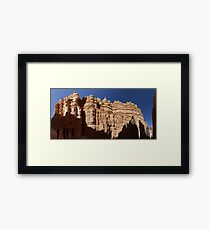 Navajo Loop Trail Panorama Framed Print