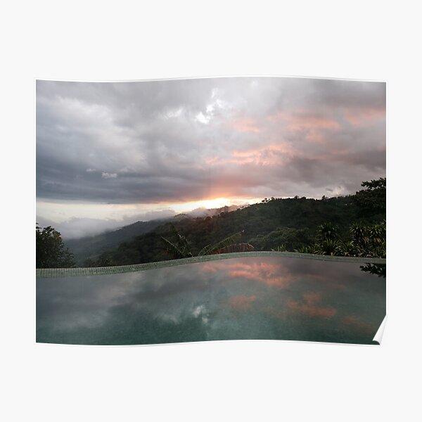 Sunset lovers dream Poster
