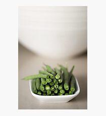 Beans.... Photographic Print