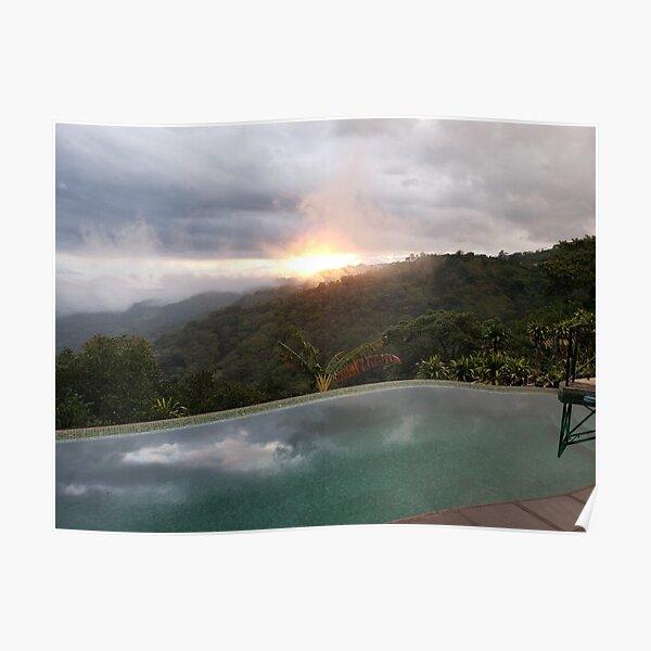 Costa Rica sunset #2 Poster
