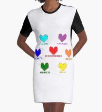 undertakes Graphic T-Shirt Dress