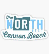 Cannon  Beach. Sticker