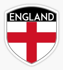 ENGLAND GREAT BRITAIN UNITED KINGDOM FLAG CREST Sticker
