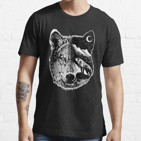 Night wolf Essential T-Shirt