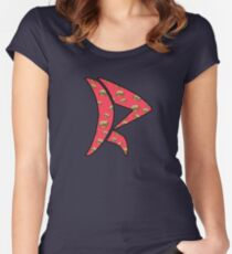 Saturated Color Women's Fitted Scoop T-Shirt