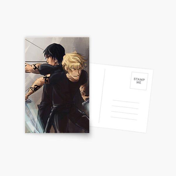 Parabatai Jace and Alec Postcard