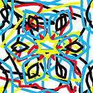 colorful kaleidoscope mandala by Rostislav Bouda